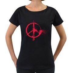 Dream Come True   Space Maternity Black T Shirt