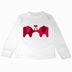 Dream Come True - Money White Long Sleeve Kids'' T-shirt