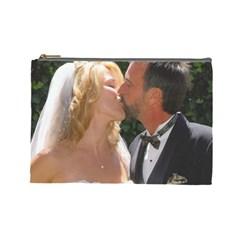 Handbag Wedding Kiss   Copy Large Makeup Purse