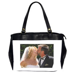 Handbag Wedding Kiss   Copy Twin Sided Oversized Handbag