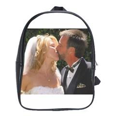 Handbag Wedding Kiss   Copy School Bag (xl)