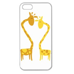 Love Animals 02 Apple Seamless Iphone 5 Case (clear)
