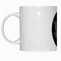 Tees Maze White Coffee Mug
