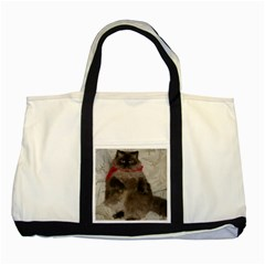 Copy Of Poopie 02 Two Toned Tote Bag