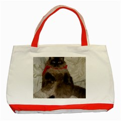 Copy Of Poopie 02 Red Tote Bag