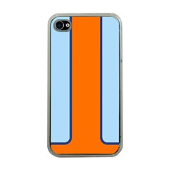 Gulf No Logo Apple iPhone 4 Case (Clear)