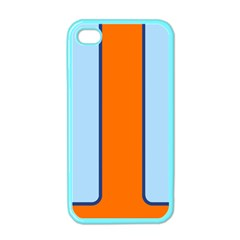 Gulf No Logo Apple iPhone 4 Case (Color)