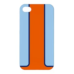 Gulf No Logo Apple Iphone 4/4s Hardshell Case