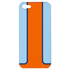 Gulf No Logo Apple iPhone 5 Hardshell Case