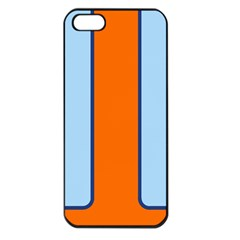Gulf No Logo Apple iPhone 5 Seamless Case (Black)