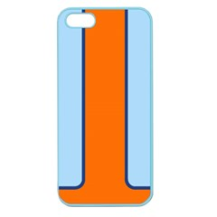 Gulf No Logo Apple Seamless Iphone 5 Case (color)