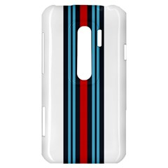Martini White No Logo HTC Evo 3D Hardshell Case