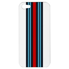 Martini White No Logo Apple iPhone 5 Hardshell Case
