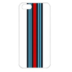 Martini White No Logo Apple iPhone 5 Seamless Case (White)