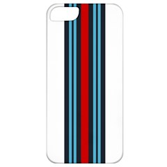 Martini White No Logo Apple Iphone 5 Premium Hardshell Case