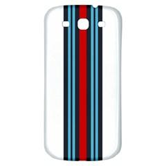 Martini White No Logo Samsung Galaxy S3 S III Classic Hardshell Back Case