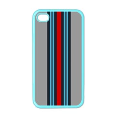 Martini No Logo Gray Apple Iphone 4 Case (color)