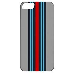 Martini No Logo Gray Apple iPhone 5 Premium Hardshell Case