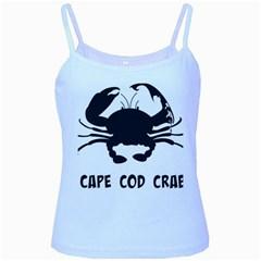 Cape Cod Crab Baby Blue Spaghetti Top