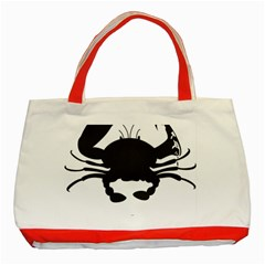 Cape Cod Crab Red Tote Bag