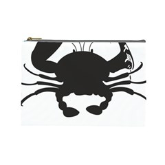 Cape Cod Crab Large Makeup Purse