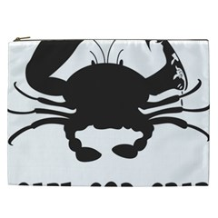 Cape Cod Crab Cosmetic Bag (XXL)