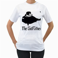 The Codfather White Womens  T-shirt