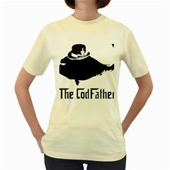 The Codfather Yellow Womens  T-shirt
