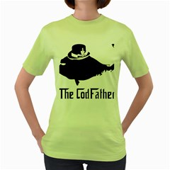 The Codfather Green Womens  T Shirt