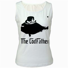 The Codfather White Womens  Tank Top