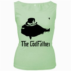 The Codfather Green Womens  T-shirt