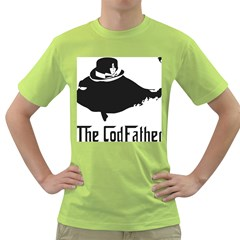 The Codfather Green Mens  T Shirt