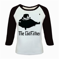 The Codfather Long Sleeve Raglan Womens'' T-shirt