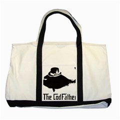The Codfather Two Toned Tote Bag