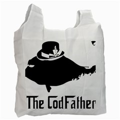 The Codfather Twin-sided Reusable Shopping Bag