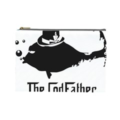 The Codfather Large Makeup Purse