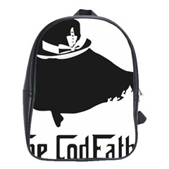 The Codfather Large School Backpack