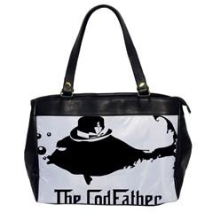 The Codfather Single-sided Oversized Handbag