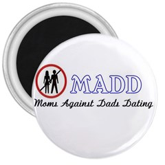 Madd Large Magnet (Round)