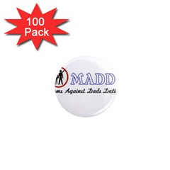 Madd 100 Pack Mini Magnet (round)