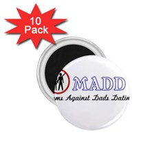 Madd 10 Pack Small Magnet (round)
