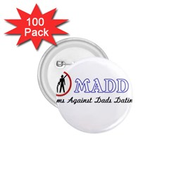 Madd 100 Pack Small Button (Round)