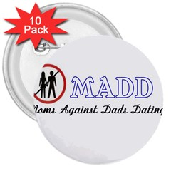 Madd 10 Pack Large Button (round)