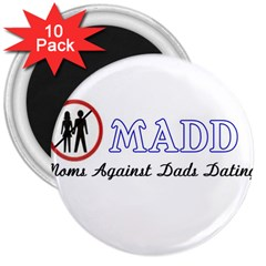 Madd 10 Pack Large Magnet (Round)