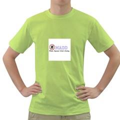 Madd Green Mens  T Shirt
