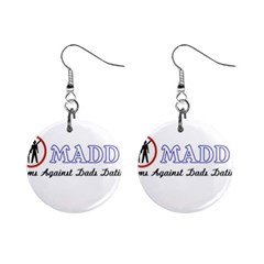 Madd Mini Button Earrings