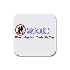 Madd 4 Pack Rubber Drinks Coaster (Square)