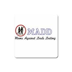 Madd Large Sticker Magnet (Square)
