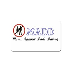 Madd Name Card Sticker Magnet