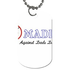 Madd Single Sided Dog Tag